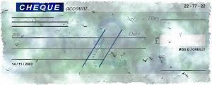 NSF bad check