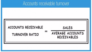 AR turnover ratio